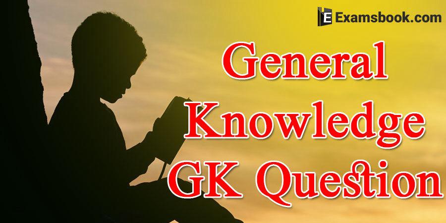 General Knowledge MCQs Laiba Forum